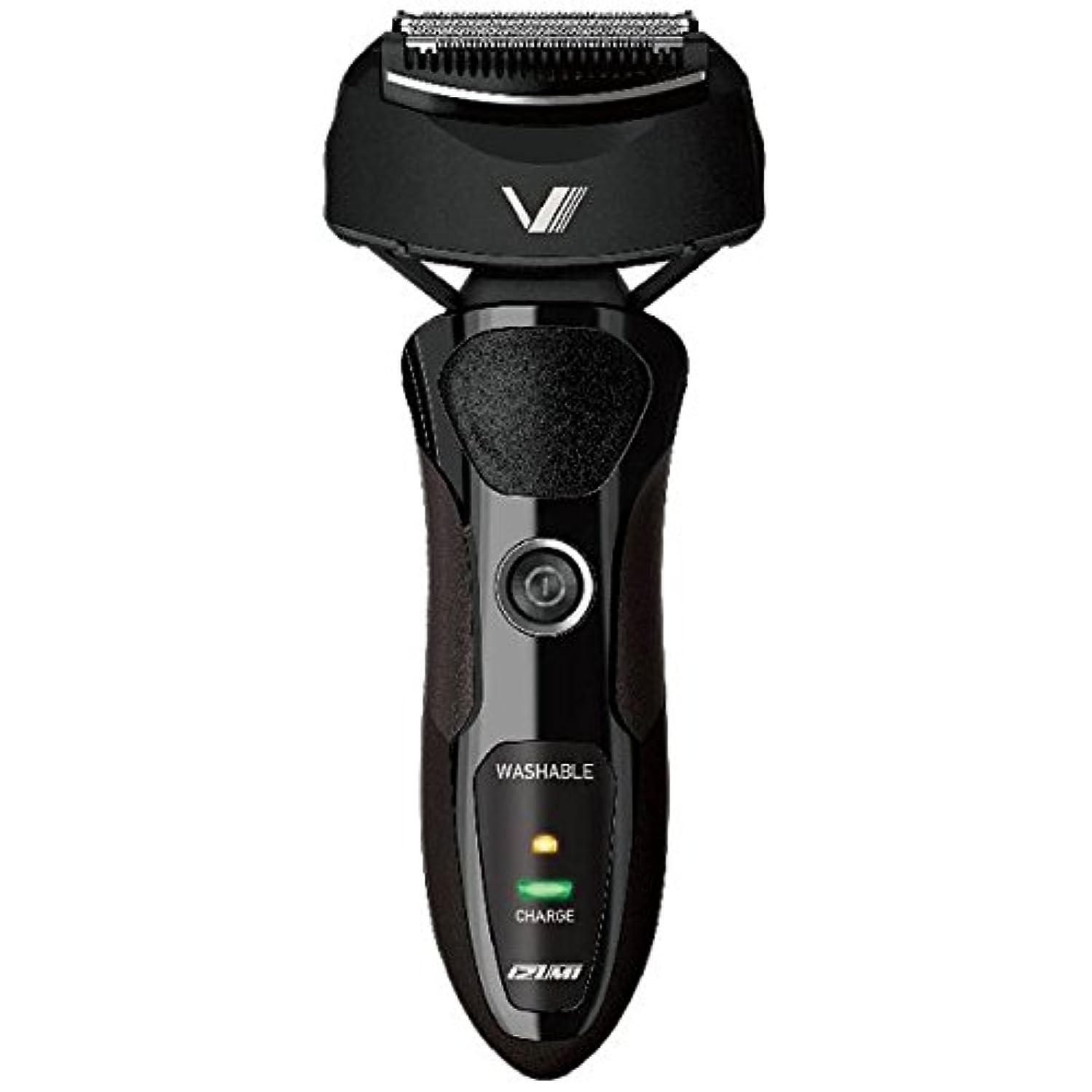 テンポベーコン感度IZUMI VIDAN 往復式シェーバー 深剃りシリーズ 3枚刃 ブラック IZF-V36-K
