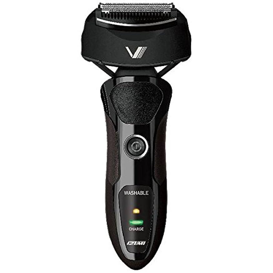 感度も踏み台IZUMI VIDAN 往復式シェーバー 深剃りシリーズ 3枚刃 ブラック IZF-V36-K
