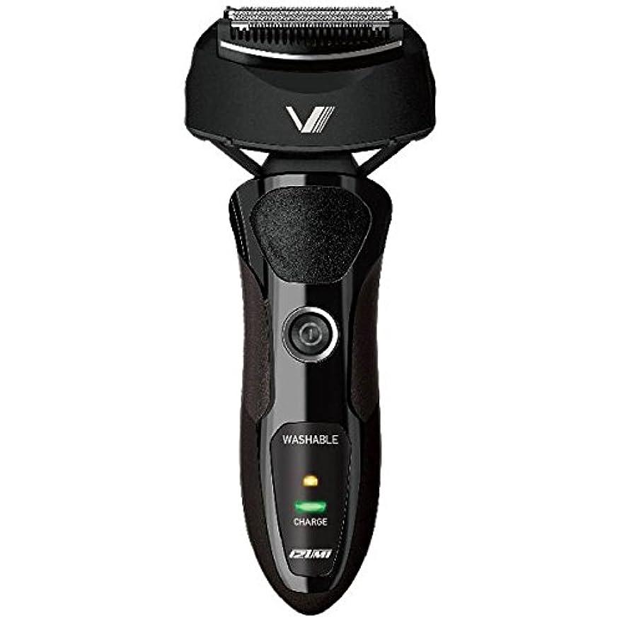 雄弁家静けさ活性化IZUMI VIDAN 往復式シェーバー 深剃りシリーズ 3枚刃 ブラック IZF-V36-K