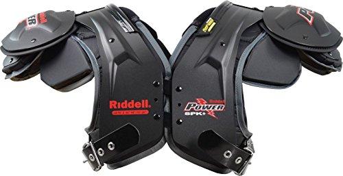 Riddell電源SPK + Adult Football Shoulder Pads – FB / LB L