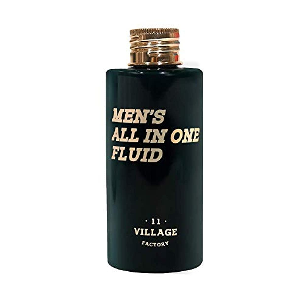 設計慣性愛撫[VILLAGE 11 FACTORY] メンズオールインワンフルイドMen's All-in-one Fluid 150ml