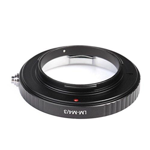マウントアダプター マイクロフォーサーズ LM-M4/3 K&F Concept® ライカMマウントレンズ-マイクロフォーサーズマウントボディ用 LMレンズ- M4/3カメラ装着用レンズアダプターリング