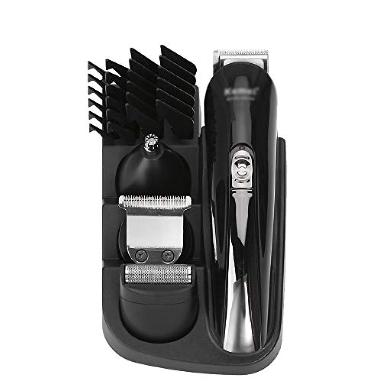 ナプキン探すつま先WAKABAFK 充電式バリカン電気シェーバーヘアトリマー髭剃り機