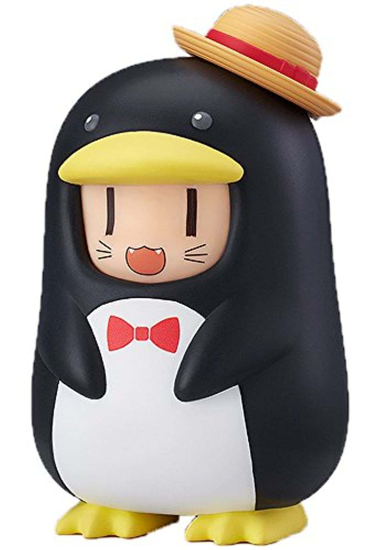 ねんどろいどもあ きぐるみフェイスパーツケース 麦わらペンギン ノンスケール ABS製 塗装済み完成品パーツケース