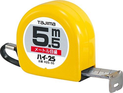 タジマ ハイ-25 5.5m 25mm幅 メートル目盛 H25-55BL
