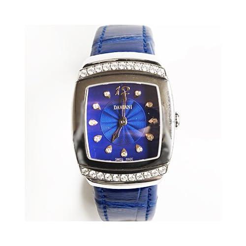 DAMIANI ダミアーニ 30001295 腕時計 クロコダイル/ブルー[並行輸入品]
