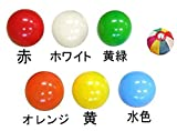 【バルーン】 40cm 風船バレースタンダード6色セット(6枚入り)   / お楽しみグッズ(紙風船)付きセット [おもちゃ&ホビー]