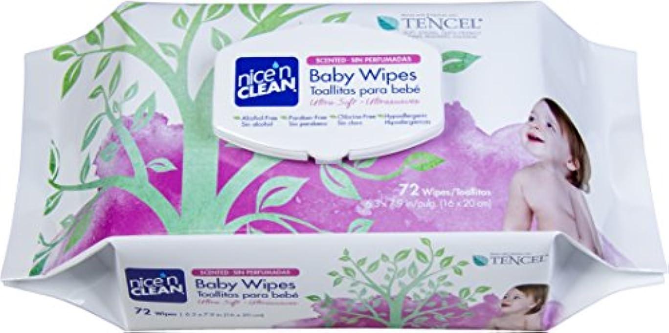 Nice 'n Clean Baby Wipes, Scented, 72 Count by Nice 'N Clean