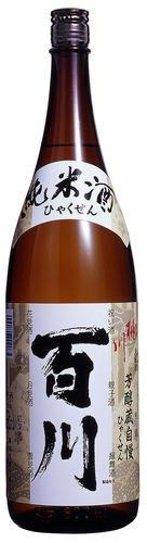 桃川 純米酒 百川 1.8L