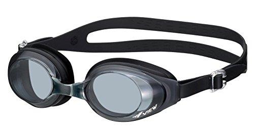 ビュー(VIEW) スイミング ゴーグル ブラック(BK) V610