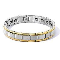4f2f0f4ff98185 INSEA メンズ レディース チタンスチール 磁気セラピーブレスレット 高力磁石 痛みを緩和 関節炎 手