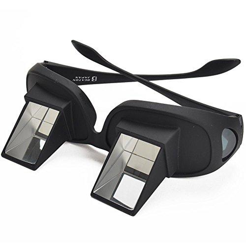 寝ながら スマホ 読書 TV が楽しめる 寝たまま メガネ 仰向け プリズム メガネ 反射メガネ