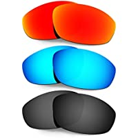 Hkuco 交換用レンズ For Oakley Whisker サングラス