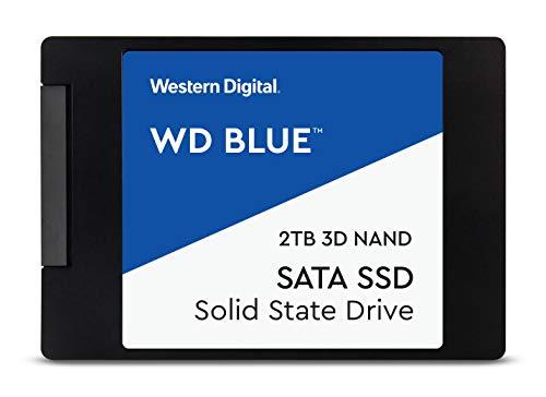 【国内正規代理店品】Western Digital WD Blue 内蔵SSD 2.5インチ 3D NAND 2TB SATA 3.0 5年保証 PS4メーカー動作確認済 WDS200T2B0A-EC