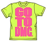 DMC GO TO DMCTシャツ ライムグリーン サイズ:XL