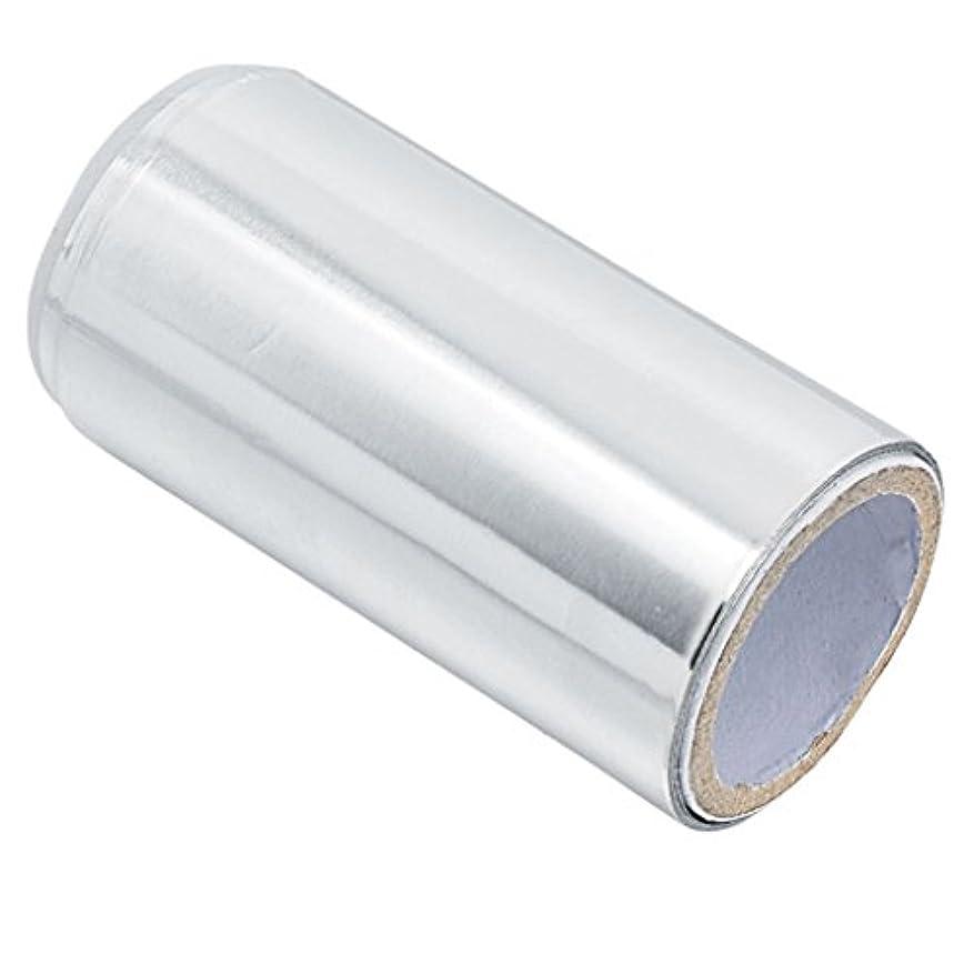 影のある機知に富んだ長さマニキュア錫箔紙 ヘア/ネイル用 ジェル除却 ヘアパーマ 約5m