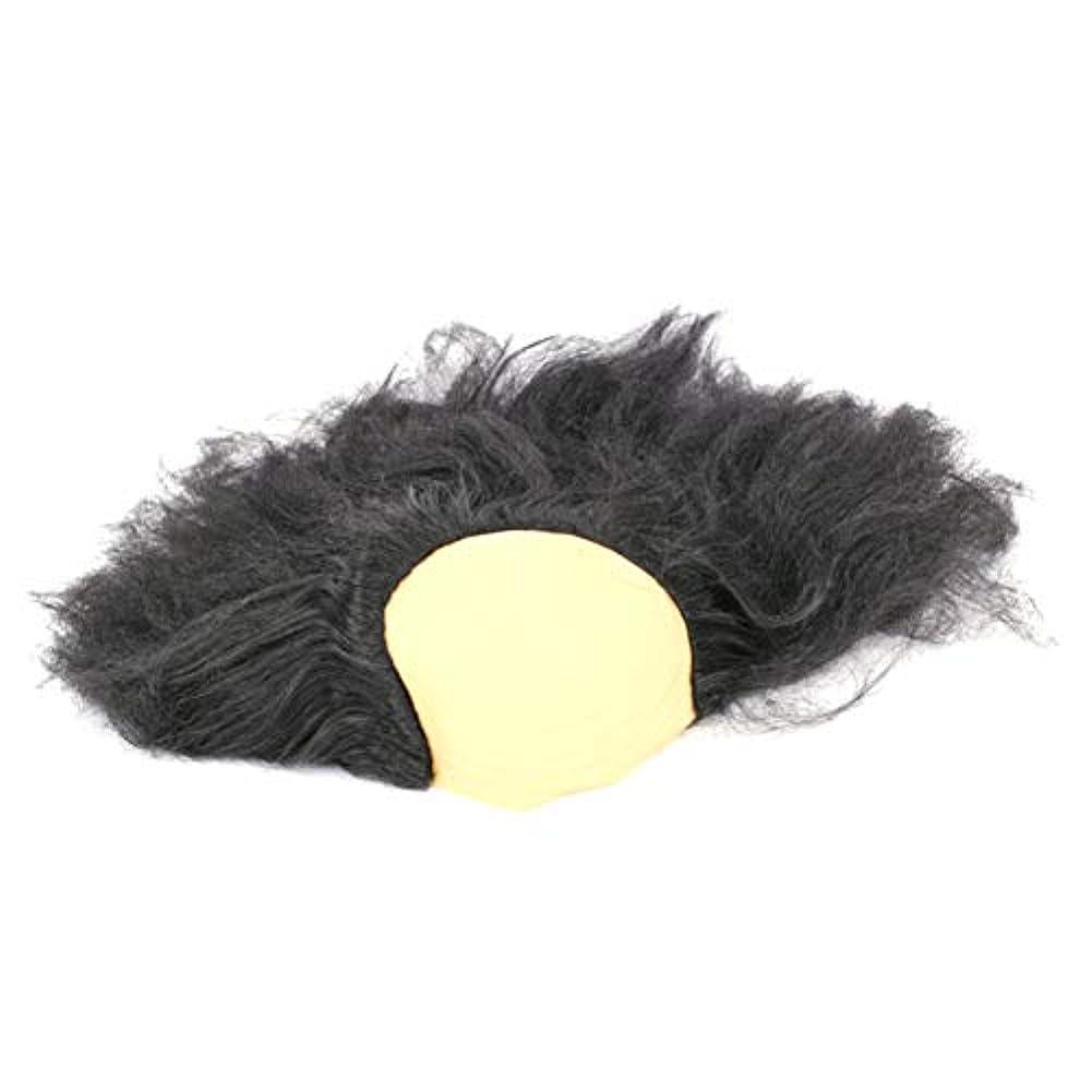 涙が出る葉巻違う安全なハロウィーンの楽しみヘッド盖??沃??肥沃な男性と女性のかつら仮装パーティー用品、古い創造ハロウィンコスチュームジュエリー1つの黒
