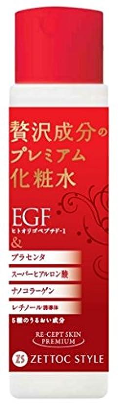 概念どちらかストライプ日本ゼトック リセプトスキンプレミアム化粧水 170ml (エイジング 弾力 ツヤ シワ たるみ)