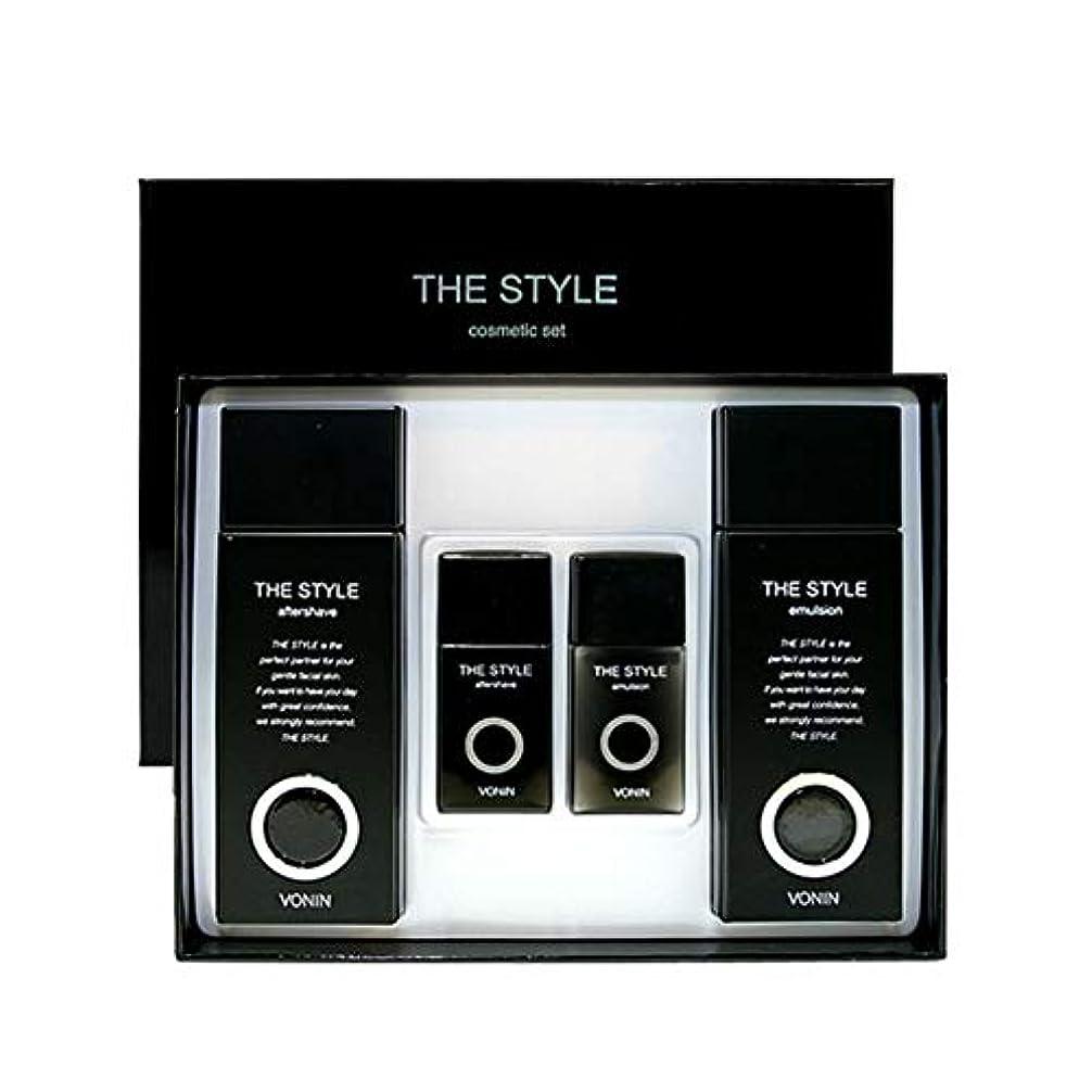 おとなしい上向き株式会社ボニンダースタイルアフターシェーブ170ml(135+35)エマルジョン170ml(135+35)セットメンズコスメ韓国コスメ、VONIN The Style Aftershave 170ml(135+35) Emulsion...