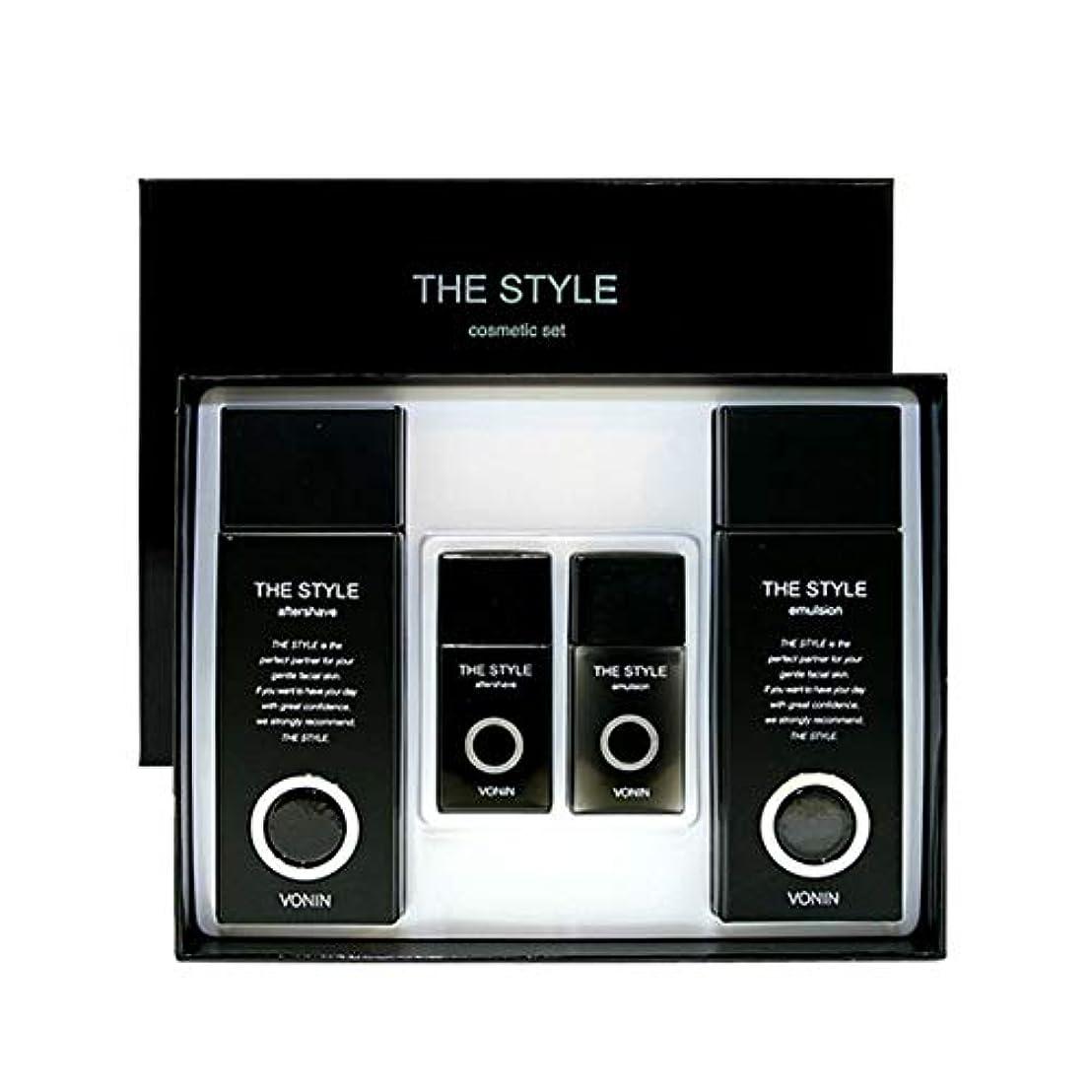 ボニンダースタイルアフターシェーブ170ml(135+35)エマルジョン170ml(135+35)セットメンズコスメ韓国コスメ、VONIN The Style Aftershave 170ml(135+35) Emulsion...