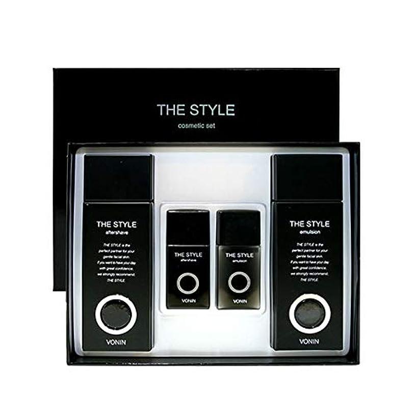 数学合意バスボニンダースタイルアフターシェーブ170ml(135+35)エマルジョン170ml(135+35)セットメンズコスメ韓国コスメ、VONIN The Style Aftershave 170ml(135+35) Emulsion...