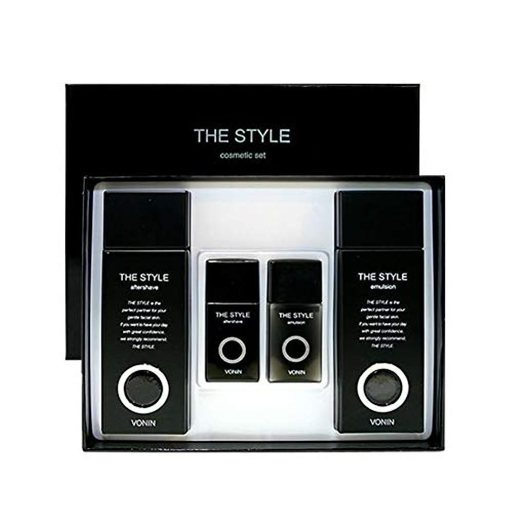 十分部分些細なボニンダースタイルアフターシェーブ170ml(135+35)エマルジョン170ml(135+35)セットメンズコスメ韓国コスメ、VONIN The Style Aftershave 170ml(135+35) Emulsion...