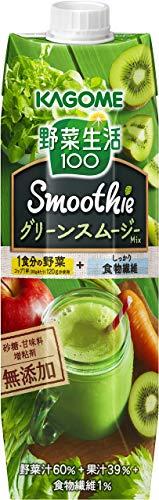 野菜生活 100 Smoothie グリーンスムージーミックス 1000g 1箱(6本)