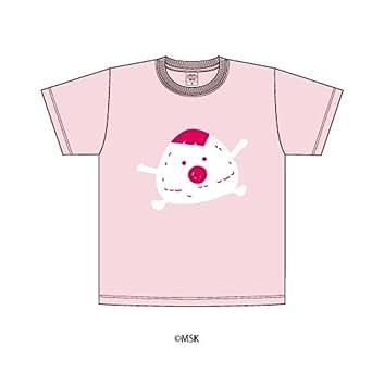 Tシャツ「あはれ!名作くん」14/ベビーピンク 110cm(むすび)