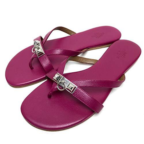 (エルメス)HERMES メドール 靴 シューズ フラットサンダル サンダル レザー/レディース 未使用 中古