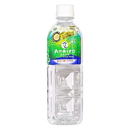奄美大島の天然水 あまいろ 12L ( 500ml × 24本 ) ミネラルウォーター 軟水 九州 鹿児島 奄美 水