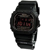 [カシオ]CASIO G-SHOCK Gショック MAT BLACK RED EYE DW-5600MS-1DR ブラック 腕時計[逆輸入]