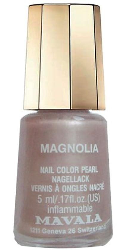 風景遠え低いMAVALA マヴァラ ネイルカラー 329 マグノリア