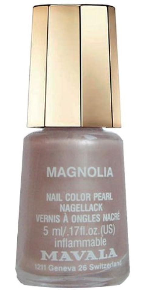 昼食惑星軍MAVALA マヴァラ ネイルカラー 329 マグノリア