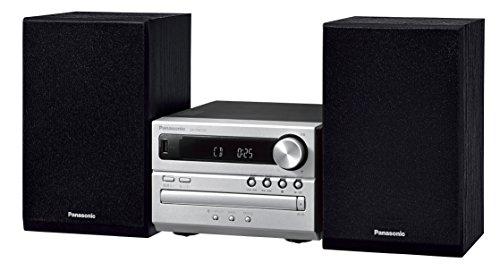 Panasonic CDステレオシステム USBメモリー/Bluetooth対応 シルバー SC-PM250-S