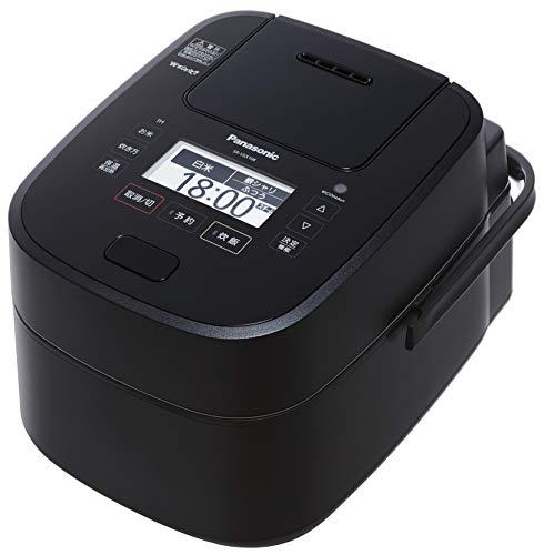 パナソニック スチーム&可変圧力IHジャー炊飯器 1.0L (ブラック) SR-VSX108-K 1台