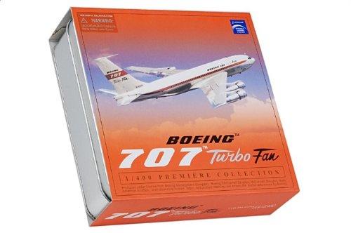 1:400 ドラゴンモデルズ 55707 ボーイング 707 ダイキャスト モデル ボーイング N-93134 Turbo Fan w/コレクター Tin【並行輸入品】