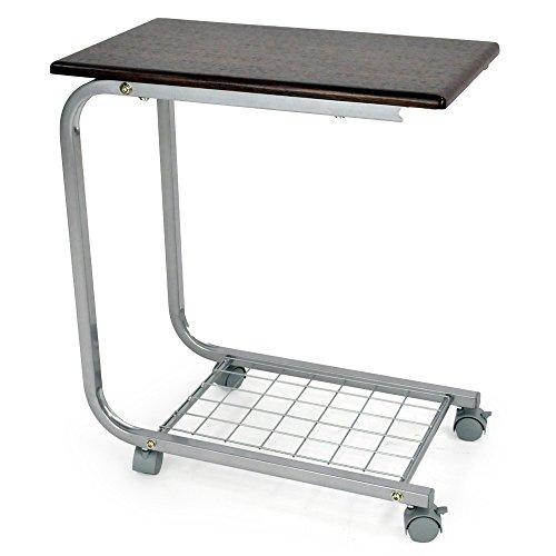 サイドテーブル ベッドサイドテーブル 介護テーブル 軽量 「 アコルデ 」 天板30cm×50cm スチール製