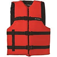 オニキスGeneral Purpose Boatingベスト、ユニバーサル大人用、over 90 – ポンド、30 – 52-inches Chest