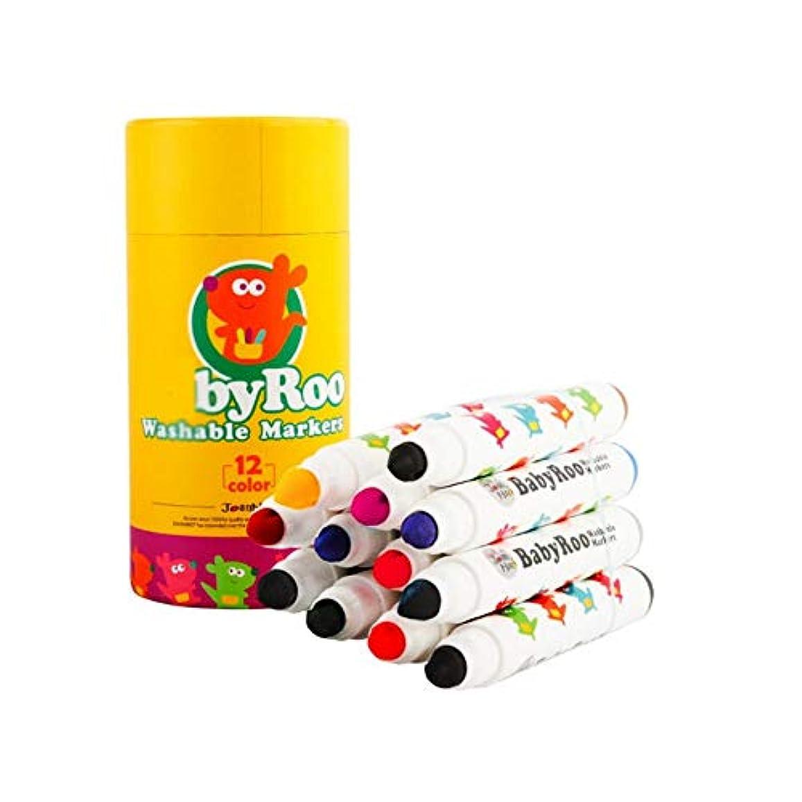 叱るドリンクスイングBoyuanweiye001 ペイントブラシ、12色、ペイント/グラフィティなどに適した3種類のブラシは、ペイントアート、洗える丸ペンペイントツール(クレヨン、先のとがった、丸い頭、12色)に使用できます 持ち運びが簡単 (Color : 12 colors, Size : Pointed)