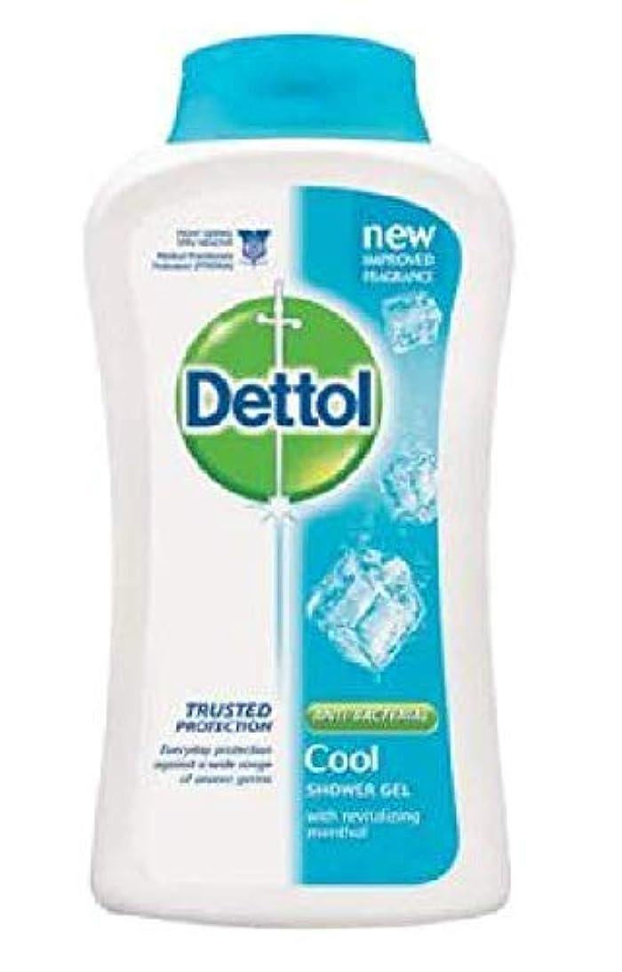 上昇第四大混乱Dettol 100%ソープフリー - - 平衡のpH値 - クリーム含有する毎日の細菌を防ぐために、コールドシャワージェル250mLの
