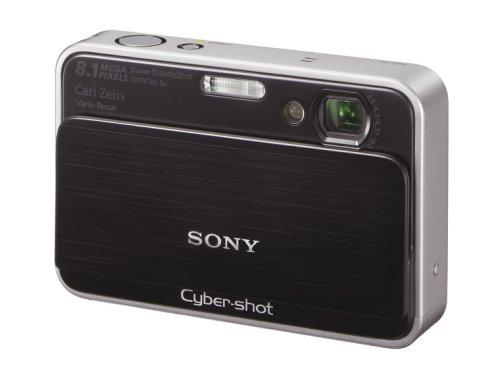 ソニー SONY デジタルカメラ サイバーショットT2 ブラック DSC-T2-B