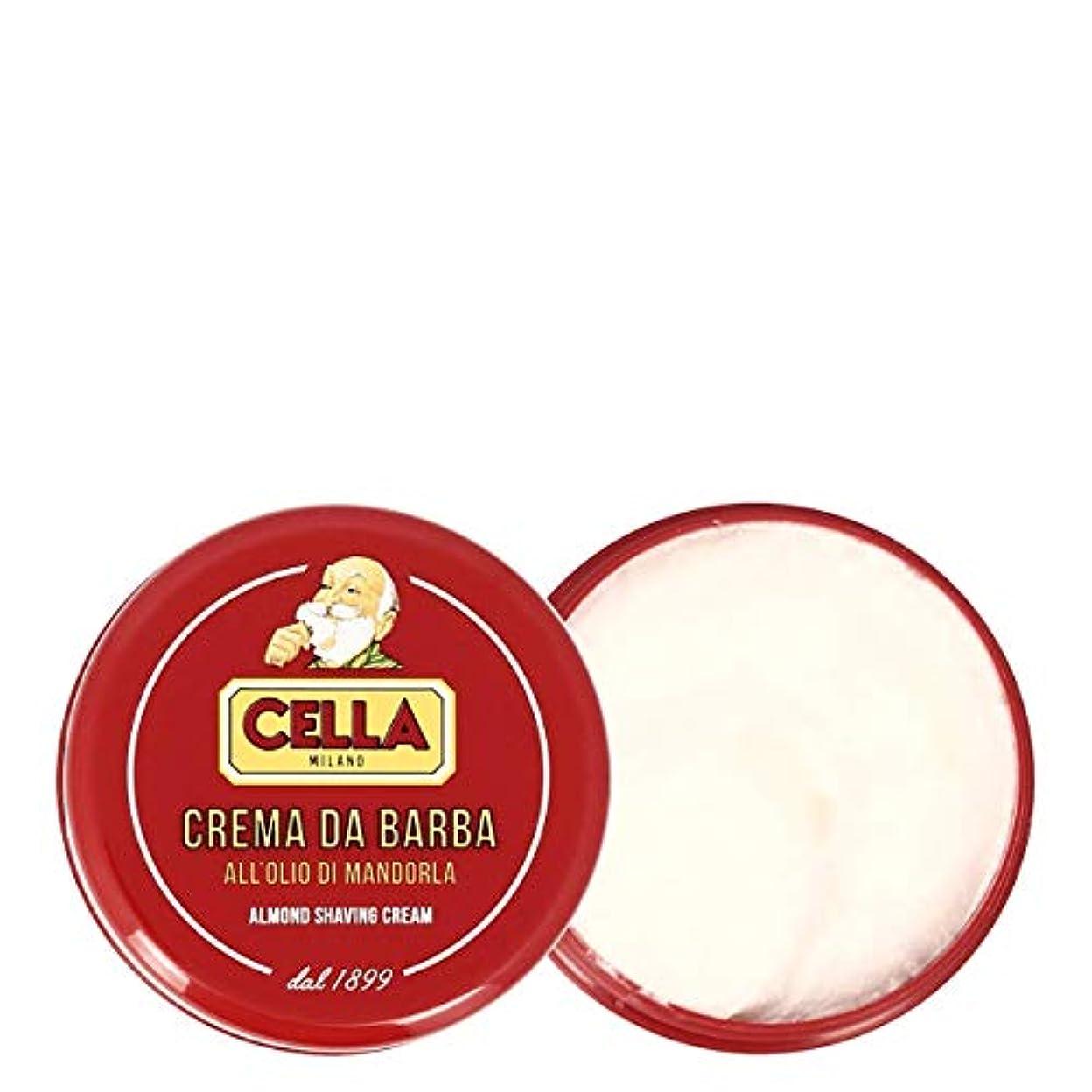 ステンレス救いモロニックセラ アーモンドシェービングクリーム150ml[海外直送品]Cella Almond Shaving Cream 150ml [並行輸入品]