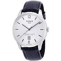 [ティソ] TISSOT 腕時計 シュマン・デ・トゥレル オートマティック パワーマティック80 シルバー文字盤 レザー T0994071603700 メンズ 【正規輸入品】