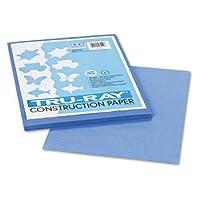Tru-Ray Construction Paper, 76 lbs., 9 x 12, Blue, 50 Sheets/Pack (並行輸入品)