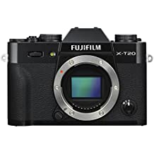 Fujifilm X-T20 Mirrorless Digital Camera - Black (Body Only)