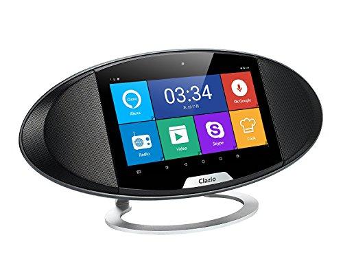 Clazio (クラジオ) ワイヤレススピーカー タッチスクリーン ボイスコ...
