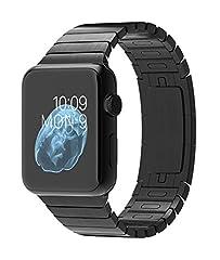 Apple Watch 本体 2015 アップル スマート ウォッチ Smart Watch 腕時計[並行輸入品] (42mmスペースブラックステンレススチールケース スペースブラックリンクブレスレット)
