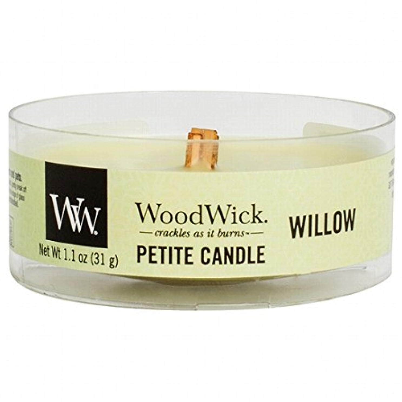 描写退屈文化WoodWick(ウッドウィック) プチキャンドル 「 ウィロー 」(WW9030525)