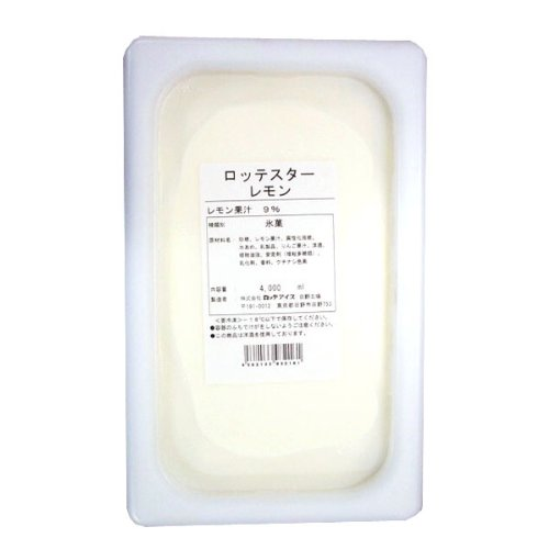 ロッテアイス ロッテスター レモン 4L  冷凍