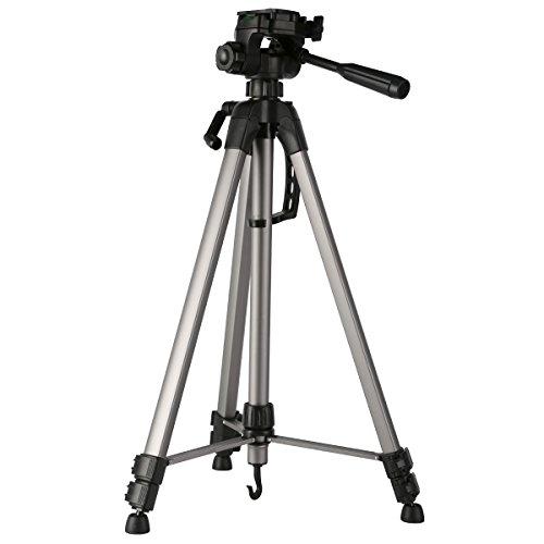 K&F Concept 三脚 3段 3WAY雲台 小型 軽量 コンパクト アルミ製 レバーロック デジタルカメラ ビデオカメラ 一眼レフカメラ Canon Nikon Petax Sonyなど用